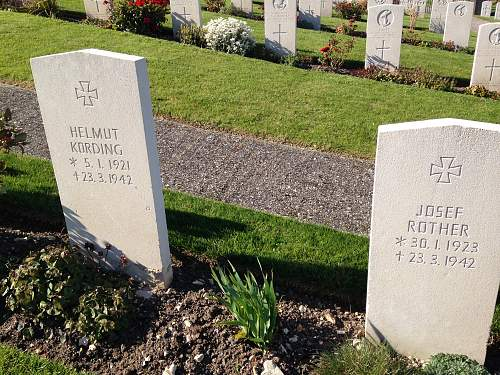 Portland Royal Navy Cemetery. German Graves