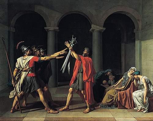 Jacques-Louis David - Oath of the Hoaratii.jpg