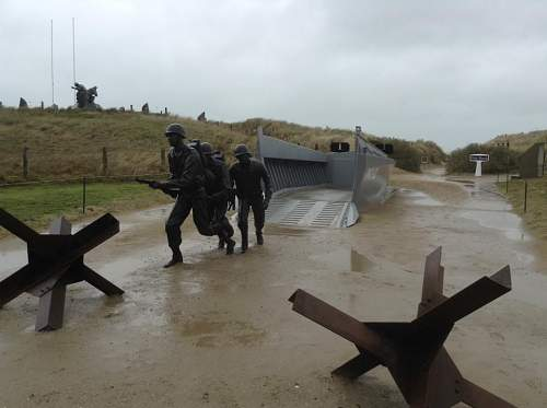 I finally got to Normandy !!