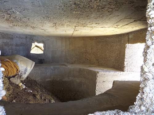 2 x German bunkers in Kalamaki on the Greek Islands