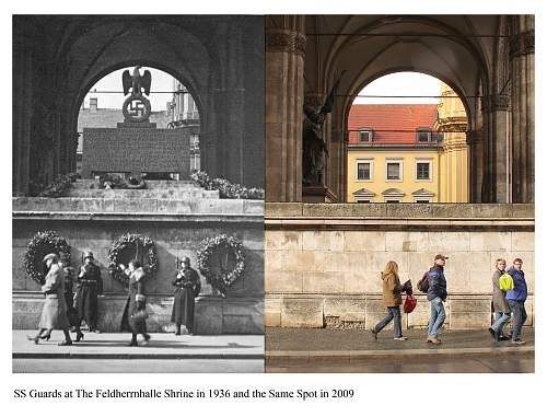 Munich then and now