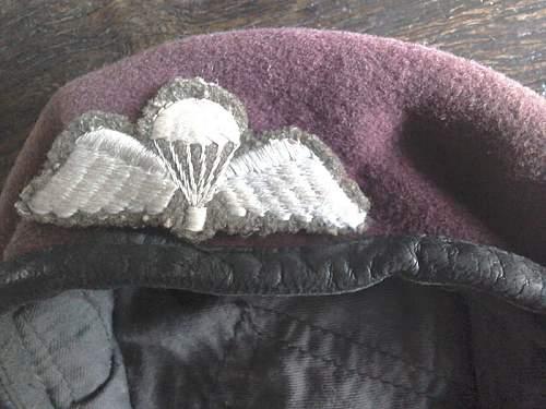 Para beret WW2