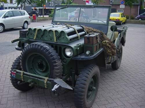 British airborne jeep