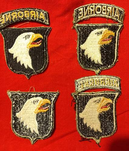 patch 101th airborne