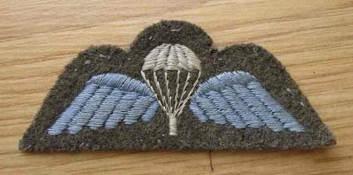 British para wing - WW II or not?