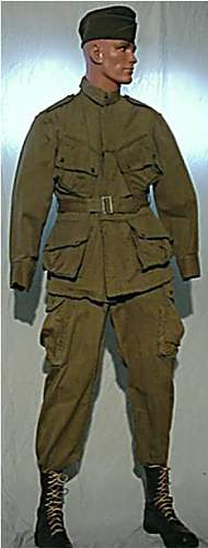 U.S. M42 paratrooper Jump Jacket without insignias