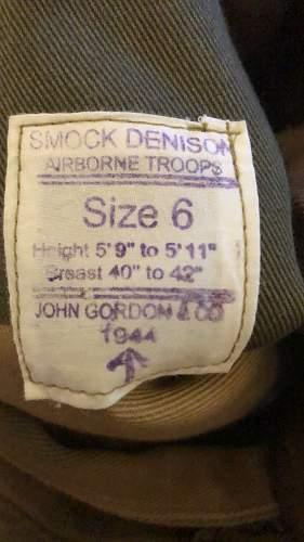 Does this Denison Smock Original?