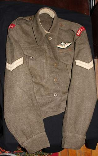 PPCLI Cpl tunic
