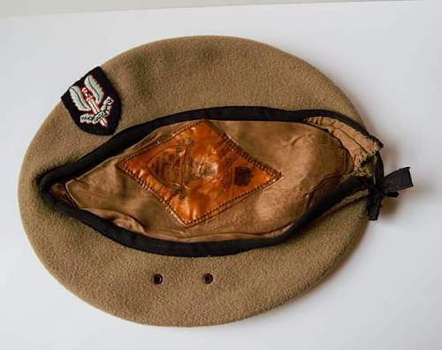 1960's SAS private purchase beret