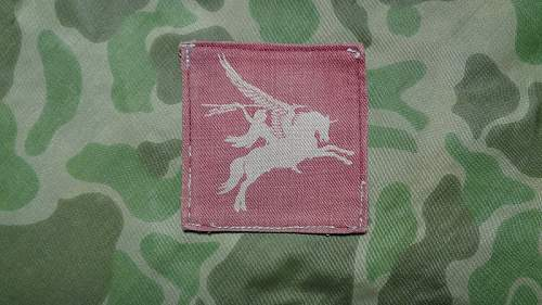 British Airborne Pegasus Patch