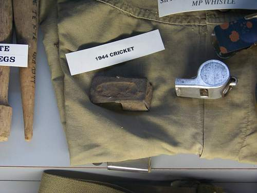Cricket used during D-Day?