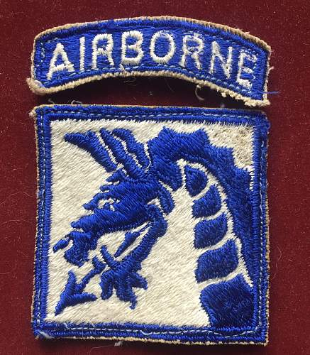 WWII patch or postwar