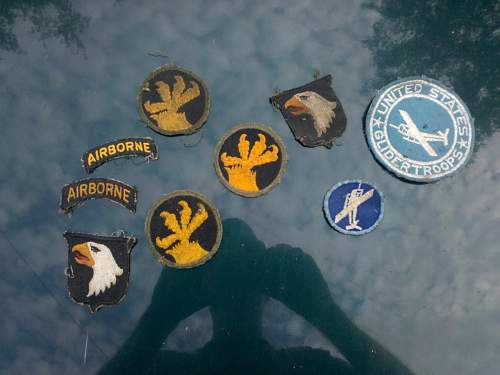 Click image for larger version.  Name:ww2 us patches.jpg Views:355 Size:111.9 KB ID:130202