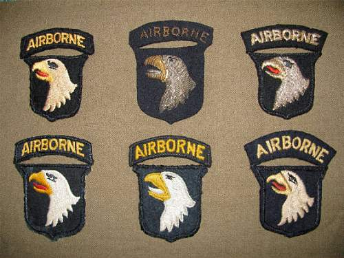 Airborne patch lot