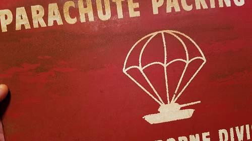 101st Airborne Division Sign Vietnam War Era from Ft. Campbell Kentucky