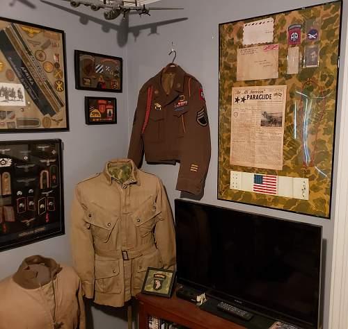 325th GIR Market Garden Framed Display