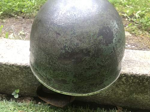 My new paratrooper helmet from 1943
