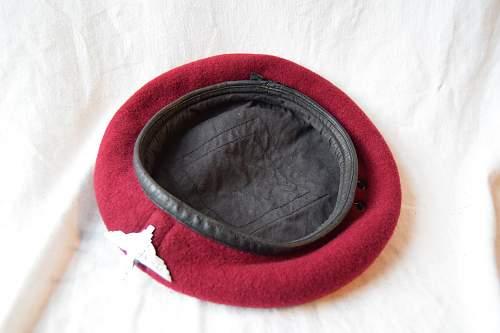 1959 parachute beret