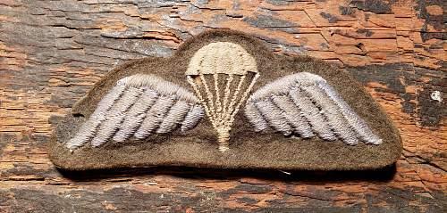 WWII British Airborne Wing?