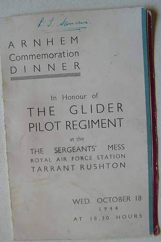 Glider Pilot Regiment items