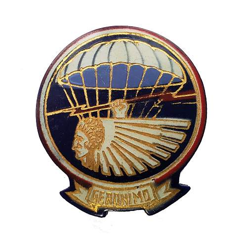 WWII (US Airborne) 501st PIR Plastic DI