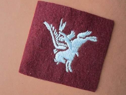 Need your expertise regarding this British Airborne/Pegasus patch