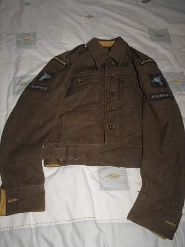 WW2 Airborne battledress