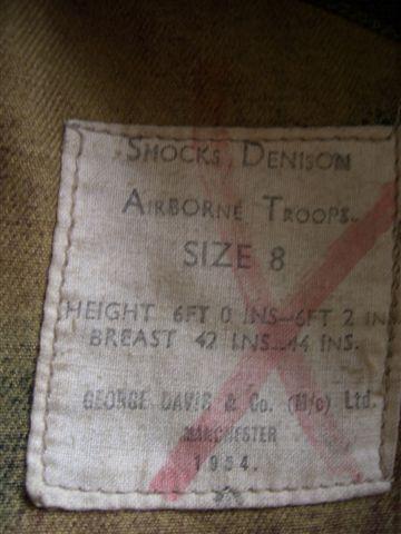 British Denison smocks