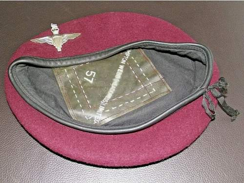 Any opinions on this one? Airborne beret.