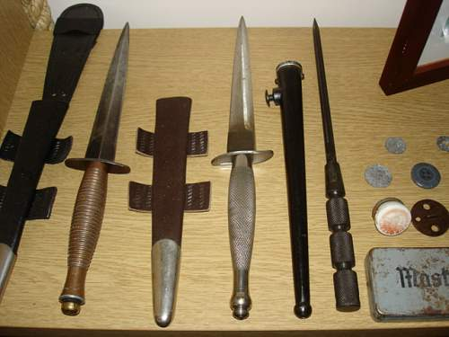 SOE/OSS and other SF weapons and equipment