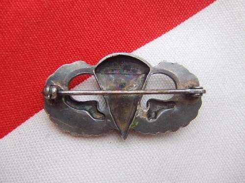 ww2 Chaplain airborne wings?