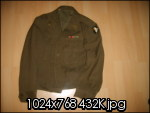 Ike jacket 101 st airborne division