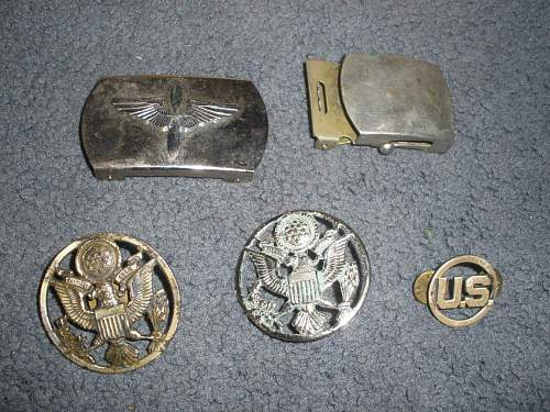 buckle and eagles