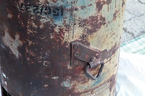 British Type C Drop Container - SOE Norway