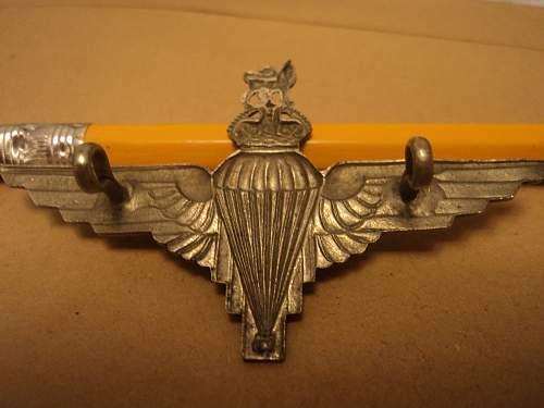 My Parachute Regiment Cap Badge