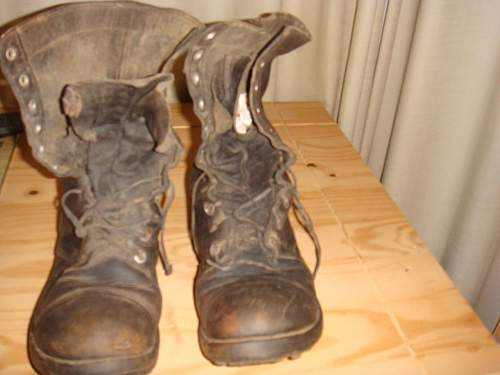 WW2 US paratrooper jump boots (barn finds)?