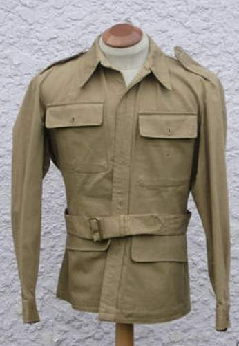 KD tunic with removed para wings