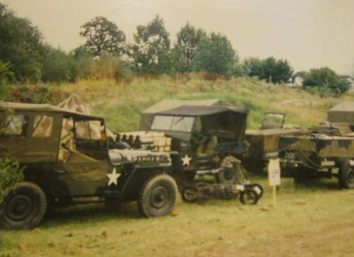 Orginal British Airborne Radio Jeep...