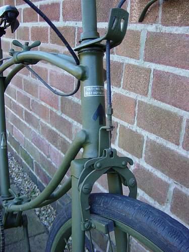 """British BSA folding """"Parabike"""""""
