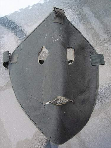 Air gunners cold weather mask