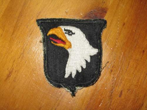 Help with US Airborne Patches, 101st and 82nd