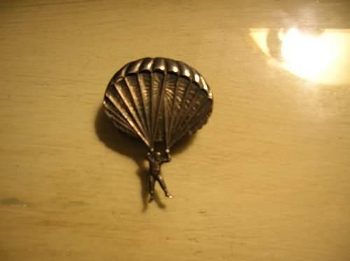 Parachute Club Pin