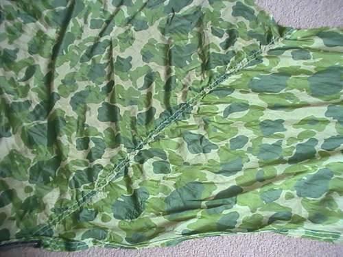 US camo parachute scarf
