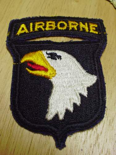 101st Airborne Patch - What Era.........?