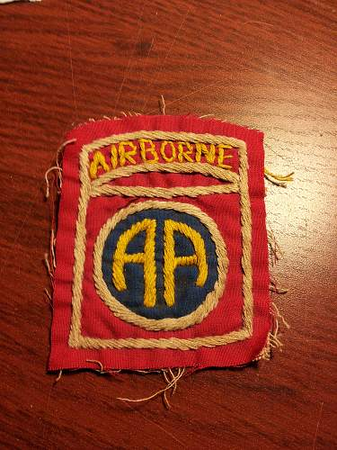 82nd airborne patch review