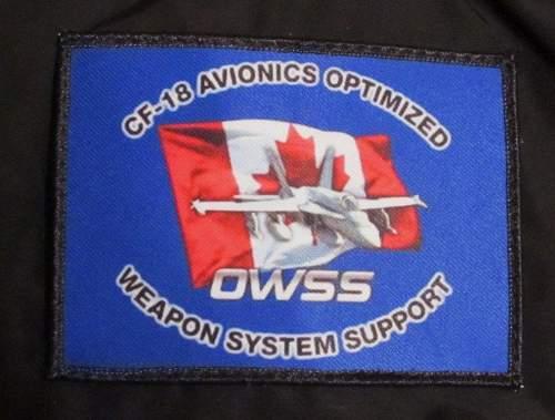 Canadian OWSS Patch