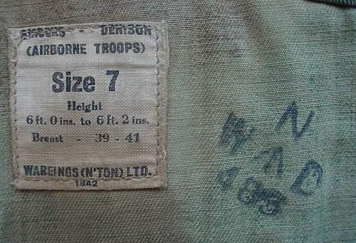 1942 British Denison smock: good or bad?
