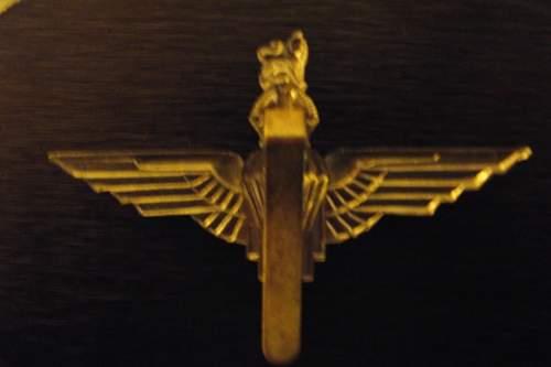 Parachute Rgiment Cap Badge