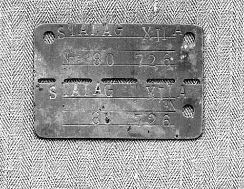STOLEN ITEM - Airborne Soldiers POW tag.
