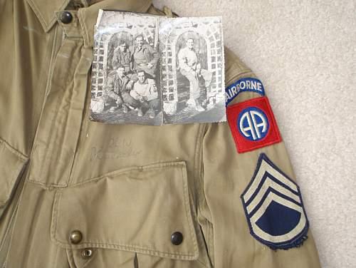 Invasion m1942 reinforced jump jacket, Original or Fake? Need Help!